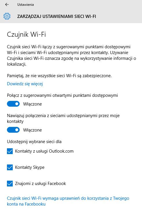 Sense Wi-Fi